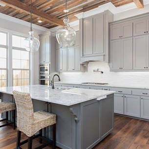 Custom Home and Kitchen built by Frantz-Gibson Construction Company in Oakland Crossing Subdivision in Prairieville, LA